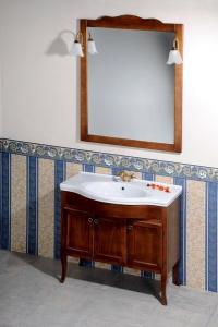 Sapho RETRO zrcadlo 89x115cm, buk 1679