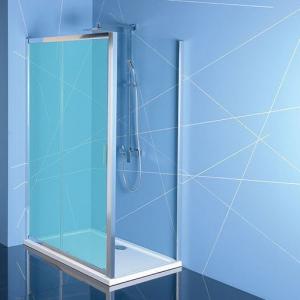 Polysan EASY LINE boční stěna 1000mm, čiré sklo EL3415