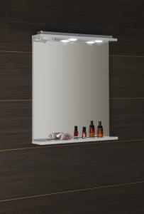 Aqualine KORIN LED zrcadlo s osvětlením a zásuvkou 60x70x12cm KO397