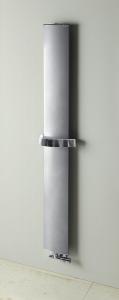 Ridea OTHELLO MONO SLIM otopné těleso 300x1890 mm, metalická stříbrná 2301189030SS