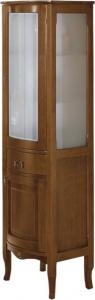 Gallo Wood IRIS doplňková skříňka vysoká 50x170x39, 5cm, noce CI-50