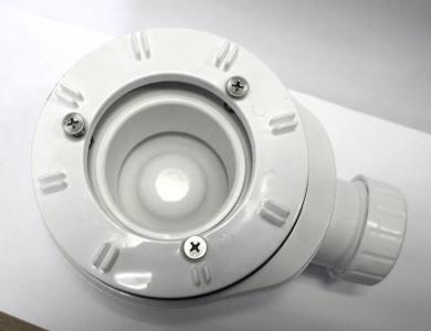 Sapho Vaničkový sifon, průměr otvoru 90 mm, DN40, nízký, krytka chrom EWCN940