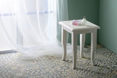 Sapho RETRO stolička 33x45x33cm, starobílá 1683
