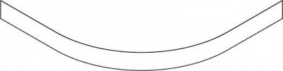 Gelco LAURA80 panel čelní výška 10cm GP508