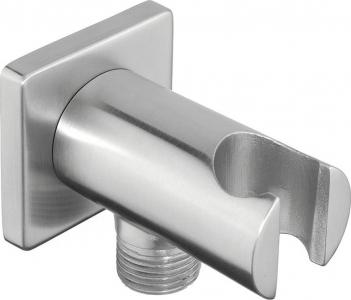 Sapho MINIMAL držák sprchy s vyústěním, nerez MI035