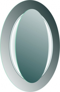 Sapho MONA zrcadlo s LED osvětlením 700x1000mm, bílá DL440