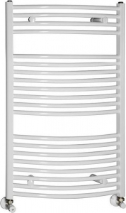 Aqualine Otopné těleso oblé 450x986 mm, 432 W, bílá ILO94E