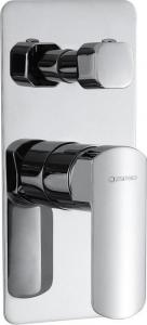 Sapho MIXONA podomítková sprchová baterie, 2 výstupy, chrom MG042