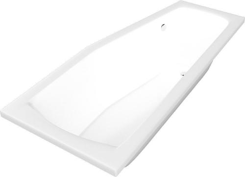 Aqualine OPAVA vana 160x70x44cm bez nožiček, pravá, bílá A1671