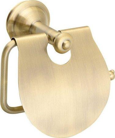 Sapho ASTOR držák toaletního papíru s krytem, bronz 1326-17