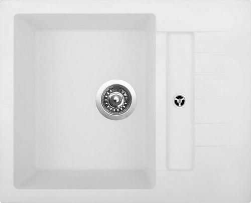 Granitový dřez Sinks CRYSTAL 615 Milk ACRCR61550028