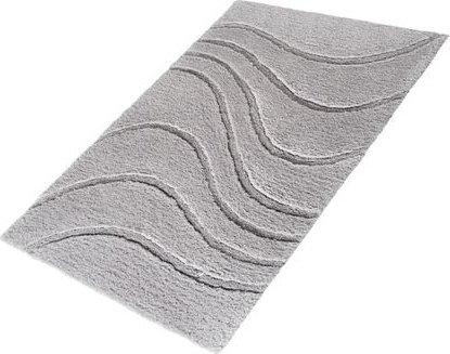 Ridder LA OLA předložka 60x90cm s protiskluzem, polyester, šedá 729307