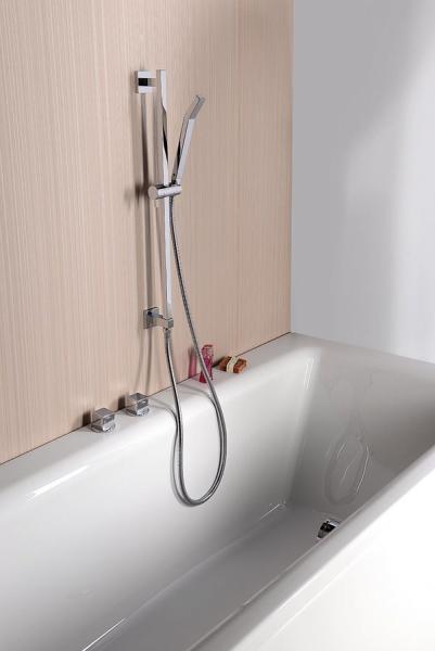 Sapho NANCY posuvný držák sprchy, vývod vody, 600 mm, chrom 1202-04