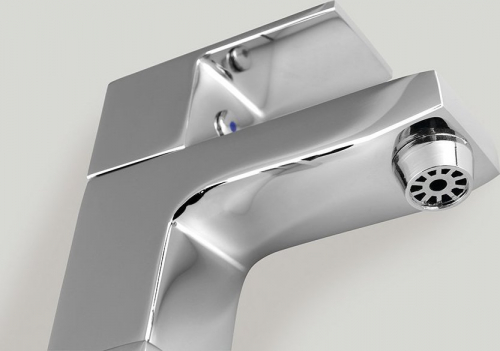 Sapho SMALL stojánkový umyvadlový ventil, 92 mm, chrom SM25