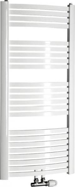 Aqualine STING Otopné těleso 650x1237 mm, středové připojení, 679 W, bílá NG612