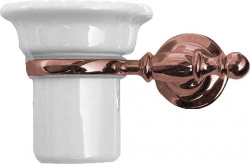 Sapho PERLA držák kartáčků, keramika, růžové zlato PE1097