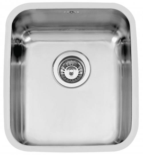 Nerezový dřez Sinks BRASILIA 380 V 0,7mm spodní leštěný RDBRL380440U7V