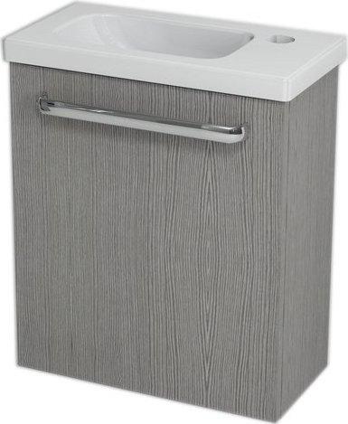 Sapho LATUS VII umyvadlová skříňka 43, 2x50x21, 2 cm, dub stříbrný 55911