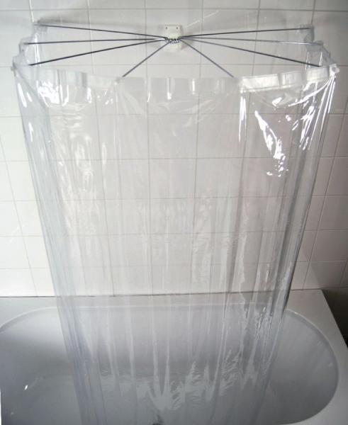 Ridder OMBRELLA skládací sprchová kabina, 100x70cm, průhledná 58200