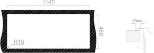 Nerezový dřez Sinks OKIO 1160 DUO V 0,6mm MP68192