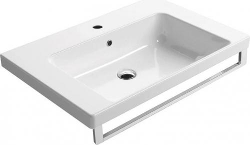 GSI NORM keramické umyvadlo 75x18x50 cm, bílá ExtraGlaze 8687111