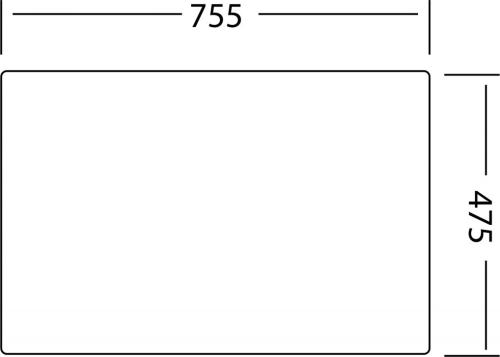 Granitový dřez Sinks CRYSTAL 780 Metalblack ACRCR78050074