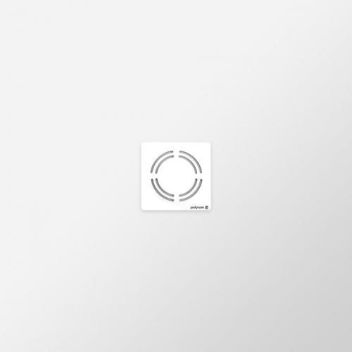 Polysan FLEXIA vanička z litého mramoru s možností úpravy rozměru, 90x90x3cm 71546