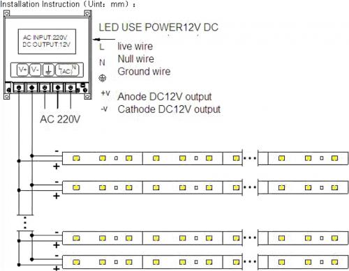 Sapho Led Zásuvkový zdroj 24W, 230/12V, IP20 LDR124