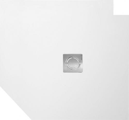 Polysan FLEXIA vanička z litého mramoru s možností úpravy rozměru, 100x100x3cm 71552
