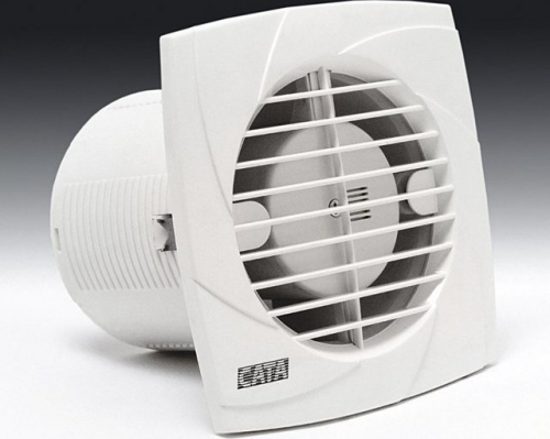 Cata B-15 PLUS koupelnový ventilátor, 25W, potrubí 150mm, bílá 00983000