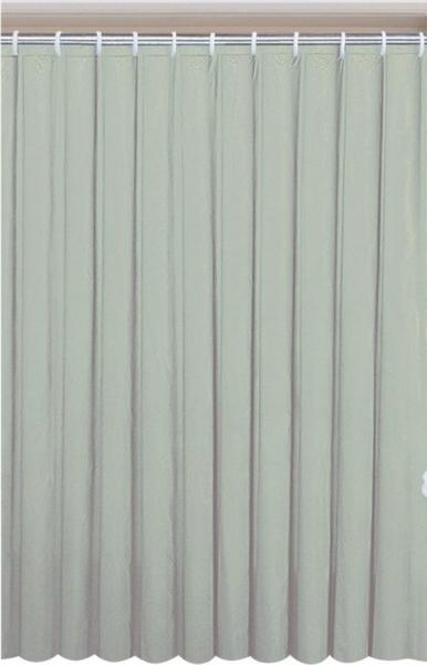 Aqualine Závěs 180x180cm, vinyl, zelená 0201003 Z