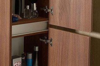 Sapho Skříňka vysoká 35x140x30cm, levá/pravá, ořech bruno LA453LP