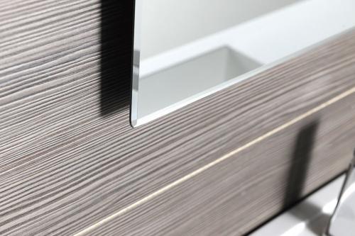 Sapho ACCORD zrcadlo s fazetou 700x900mm, zakulacené rohy, bez úchytu MF444