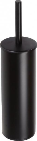Bemeta DARK WC štětka válcová na postavení, černá 102313060