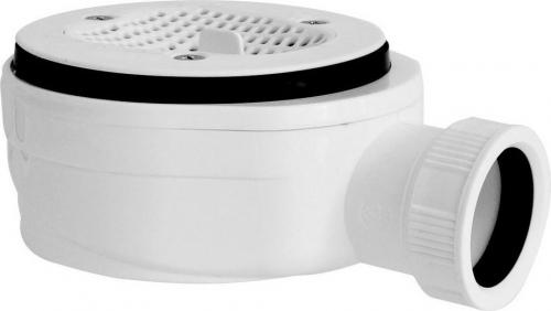 Gelco GELCO vaničkový sifon, prům. otv. 90 mm, DN40, extra nízký, pro vaničky s krytem GE90EXNMINUS