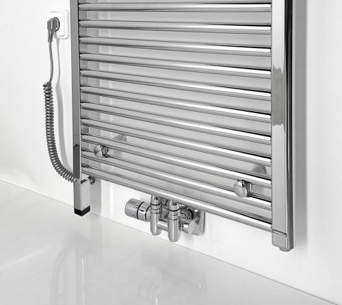 Sapho ONE D topná tyč s termostatem, 600 W, levá, chrom ONE-DL-C-600
