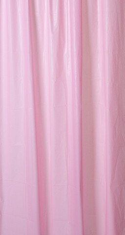 Aqualine Sprchový závěs 180x200cm, vinyl, růžová ZV021