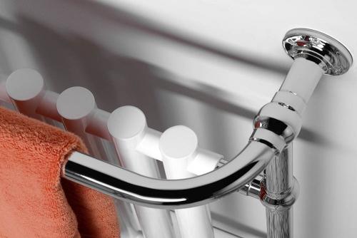 Sapho CORK otopné těleso 675x960 mm, chrom/bílá RE104