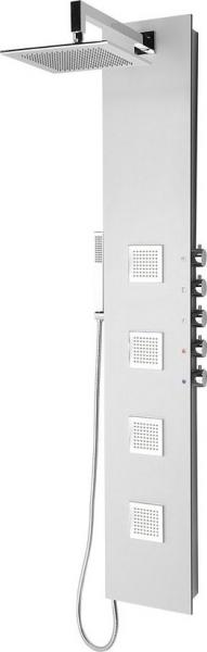 Polysan 5SIDE SQUARE sprchový panel 250x1550mm, aluminium 80221