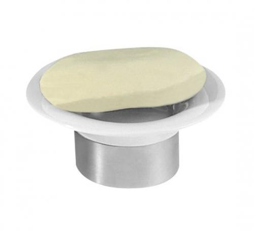 Sapho JUSTY mýdlenka na postavení, keramika/nerez 1308-32
