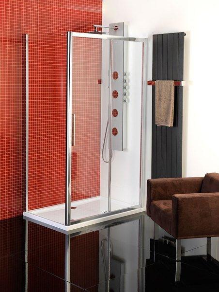 Polysan Lucis Line obdélníkový sprchový kout 1100x800mm L/P varianta DL1115DL3315