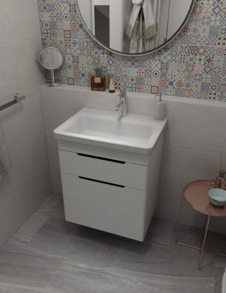 Sapho CITY keramické umyvadlo hranaté 60x18x45cm KE060