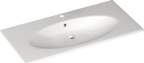 Sapho SISTEMA X keramické umyvadlo 100x51cm, bílá 10SX51101