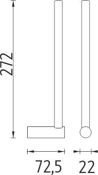 Nimco Bormo Držák na toaletní papír BR 11055S-26