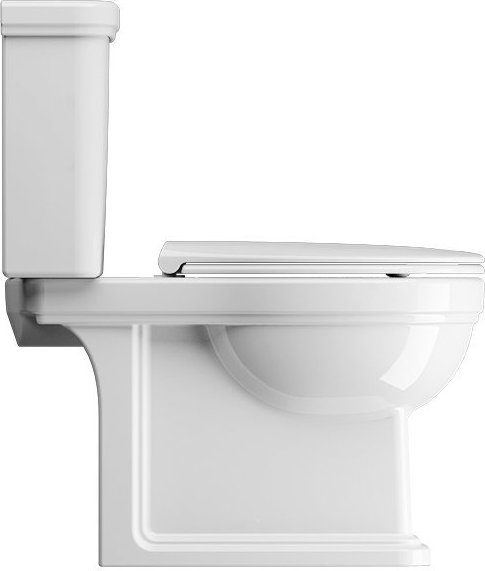 GSI CLASSIC WC mísa kombi spodní/zadní odpad, bílá ExtraGlaze 871711