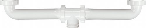 Sapho Nástavec pro dvojdřez 1'1/2, bílá, plast 1850NN
