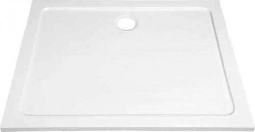 Aqualine TECMI sprchová vanička z litého mramoru, 100x90x3 cm PQ10090
