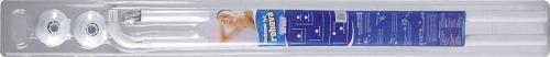 Aqualine Závěsová tyč rohová 100x120cm, bílá 0201014