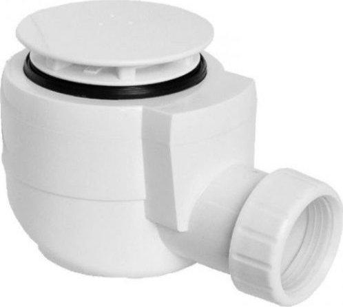 Sapho Vaničkový sifon, průměr otvoru 50 mm, DN40, krytka bílá EWP0540