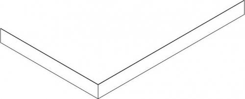 Gelco SARA panel čelní 110x80 cm, výška 10 cm, levý GP11080L